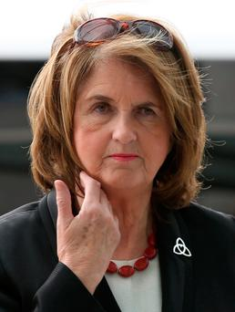 Former Tánaiste Joan Burton Photo: Collins Courts