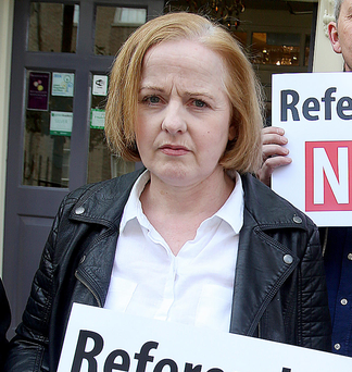 Ruth Coppinger and five other TDs will repeat their protest