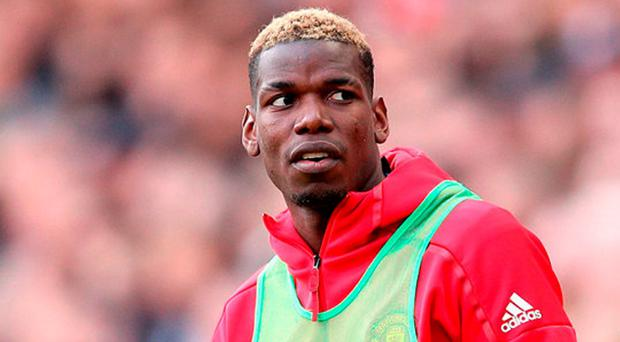 Manchester United's Paul Pogba. Photo: PA