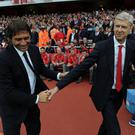 Antonio Conte and Arsene Wenger
