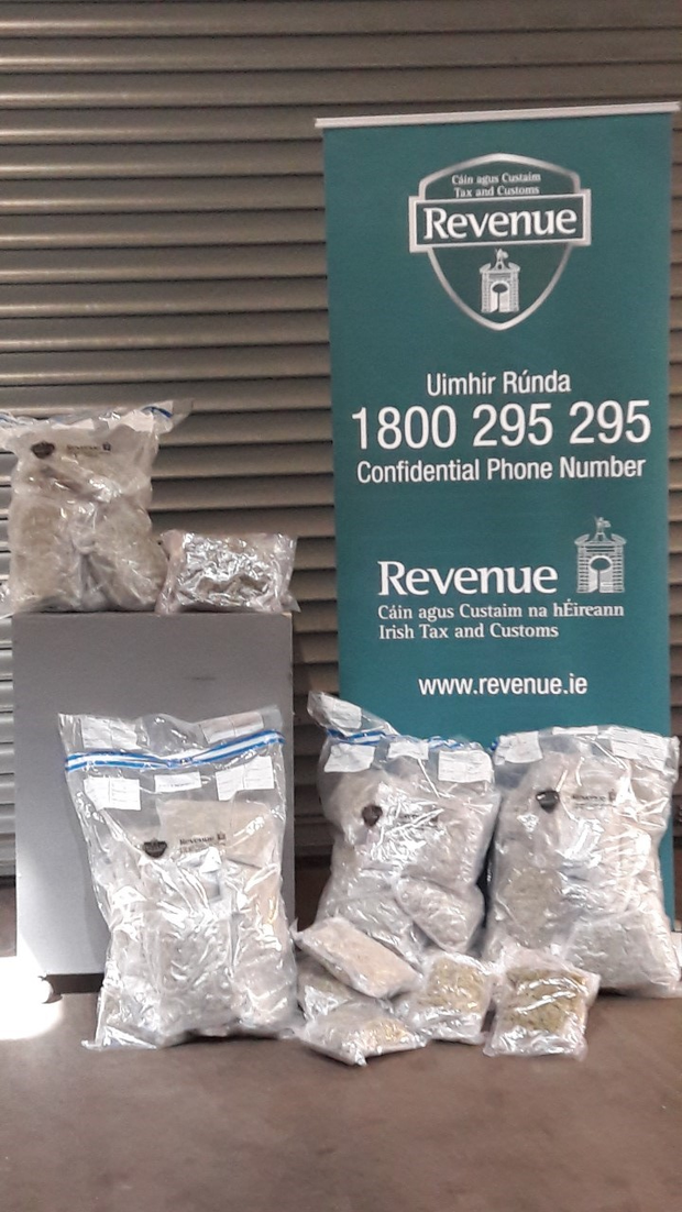The drugs were seized at Dublin Port