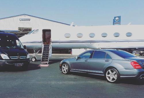 Lil Bow Wow posted this pic of a private jet on Instagram