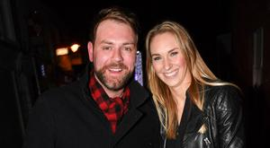 Brian McFadden and girlfriend Danielle Parkinson