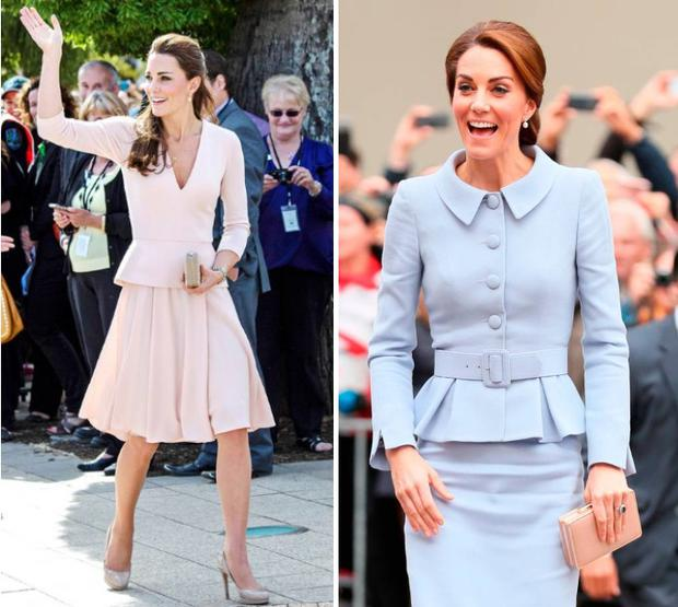 In Pictures Kate Middleton S Most Stylish Wedding Guest Dresses