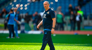 Italy head coach Conor O'Shea. Photo: Sportsfile