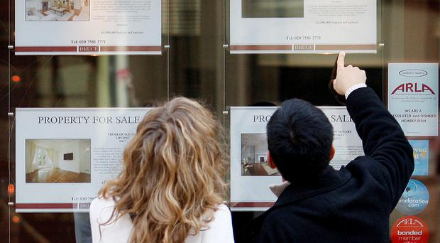 The surge in property prices has pushed up the net worth of households.