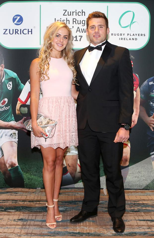 Jean Marie Stander and CJ Stander Photo: Leon Farrell/Photocall Ireland