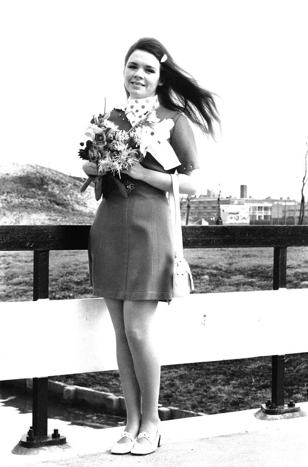 Dana, winner of the 1970 Eurovision Song Contest (Photo by McCarthy/Daily Express/Getty Images)