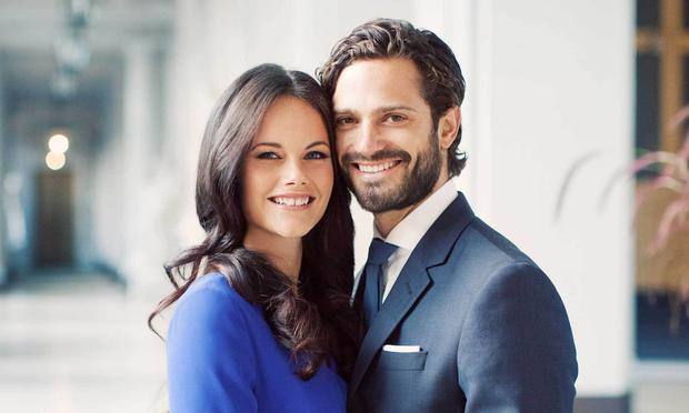 Princess Sofia and Prince Carl Philip announcing their engagement. Picture: Erika Gerdemark/Royal Palace