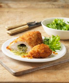 The chicken Kiev - chicken breast stuffed with an oozing core of garlicky butter - was one of the defining foods of the 1970s
