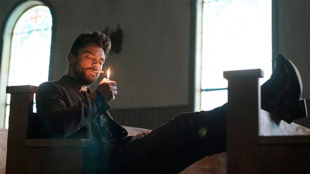 Dominic Cooper in Preacher. Credit: AMC