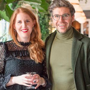 Ailbhe Jordan & Darren Kennedy at the launch of Specsavers' Darren Kennedy Recommends 2017 collection at WILDE in the Westbury. Picture: Anthony Woods