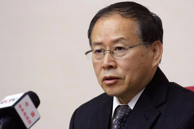 North Korea's Vice Foreign Minister Han Song Ryol speaks during a meeting at the People's Palace of Culture in Pyongyang