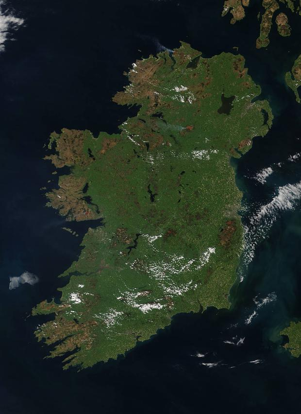 Satellite Map Of Ireland.Payment Lift Off On 66pc Of Satellite Inspections Farming Independent