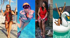 Four Irish women reveal what it's really like to be a travel blogger - and it will surprise you (L-R) Janet Newenham (@janetnewenham), Tara Povey (@whereistarablog), Nadia El Ferdaoussi (@nadia_dailyself) and Siobhan McAuley (@they.wanderlust). Images: Instagram (see brackets)
