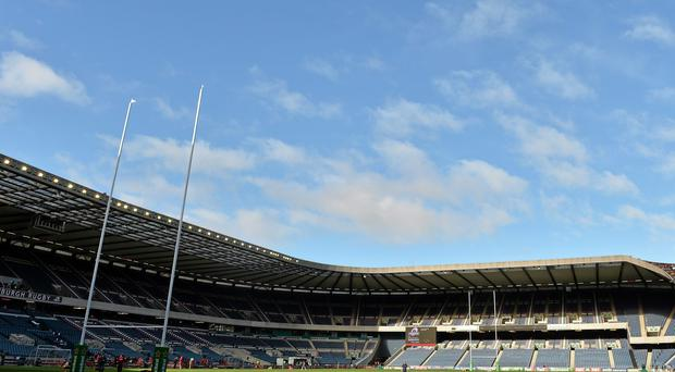 The SRU have been heavily pushing tickets to avoid the sight of vast swathes of empty seats at Murrayfield. Photo: Sportsfile