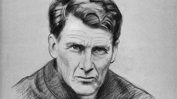 A drawing of Fr John Sullivan, who was held in great affection by ordinary Dubliners