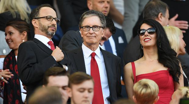 LIVERPOOL, ENGLAND - SEPTEMBER 10: John W Henry watches the game from the stands during the Premier League match between Liverpool and Leicester City at Anfield on September 10, 2016 in Liverpool, England. (Photo by Michael Regan/Getty Images)