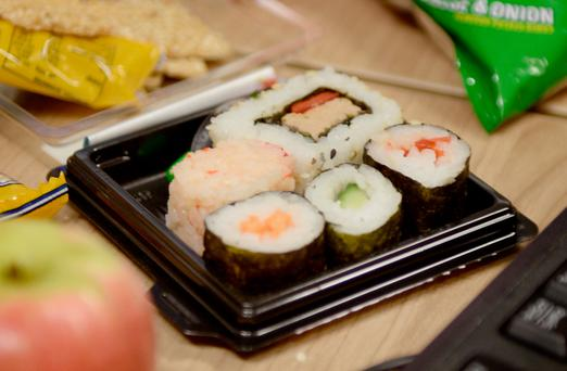 Sushi-lovers are being warned of the dangers of ingesting parasites from raw and undercooked fish