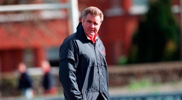 13 March 1999, Brent Pope, Clontarf Coach, Rugby. Picture credit; Damien Eagers/SPORTSFILE.