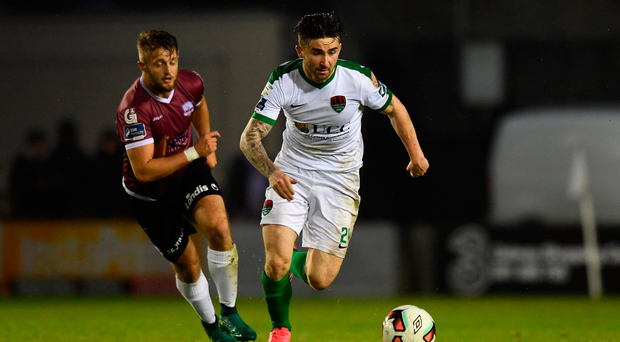 12 May 2017; Sean Maguire of Cork City during the SSE Airtricity League Premier Division game between Galway United and Cork City at Eamonn Deasy Park in Galway. Photo by Sam Barnes/Sportsfile