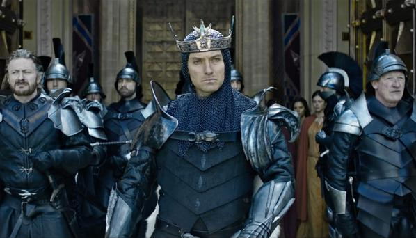 Jude Law stars as King Arthur