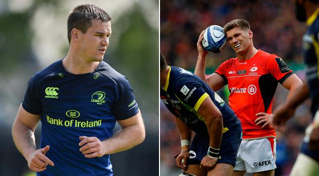 Jonathan Sexton and Owen Farrell are the favourites to start at 10 for the Lions next month