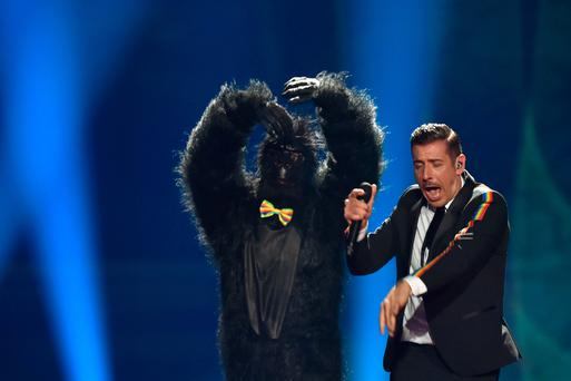 Bring on the 'Gorilla': Eurovision Final Brings Glittery Fun