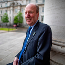 Many spats: Transport Minister Shane Ross at Government Buildings, where he spoke candidly about his brief in Government Photo: Arthur Carron