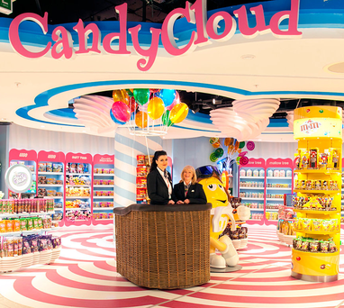 Aer Rianta International, the retail arm of DAA, has already rolled out Candy Cloud — its bespoke children's store for confectionery