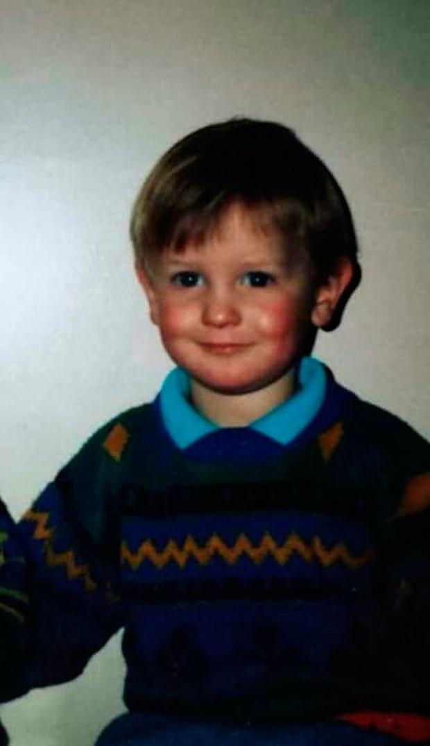 Aidan aged three (Photo supplied by family)