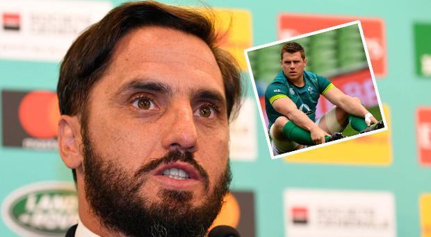 Pichot and (inset) Stander