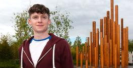 Colm O'Reilly, from Cavan, can't find accommodation for next semester. Photo: Damien Eagers