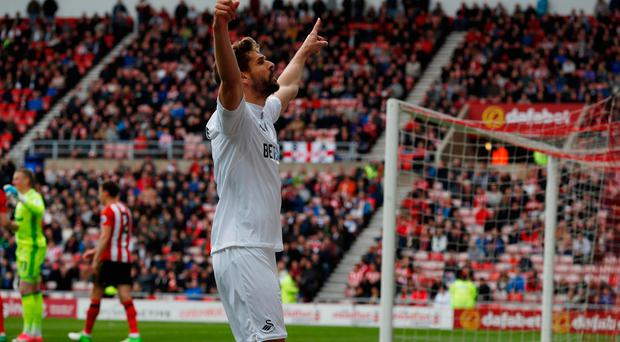 Swansea City's Fernando Llorente. Photo: Reuters