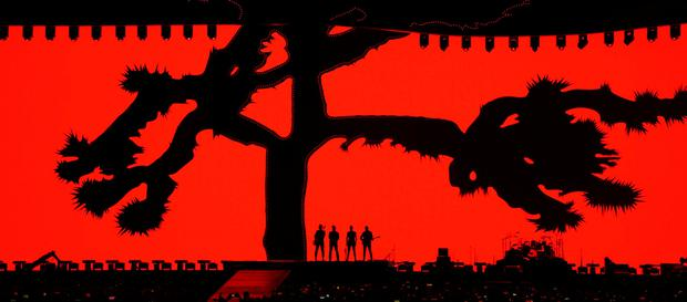 U2 on stage during the opening concert of their global The Joshua Tree Tour 2017 in Vancouver, British Columbia, Canada May 12, 2017. Picture taken May 12, 2017. REUTERS/Nick Didlick
