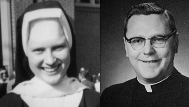 Sister Catherine Anne Cesnick, Fr Joseph Maskell. PIC: Netflix