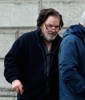 John McCormack, pictured leaving the Four Courts after he was awarded €18,000 damages following a Circuit Civil Court action.Pic: Collins Courts