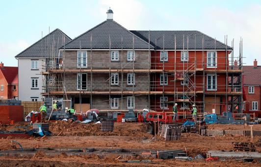 Construction costs in Dublin are set to rise 8pc in 2017 - far faster than the 3.5pc global increase forecast in the latest International Construction Market Survey. Photo: PA