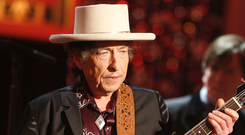 Enjoyed Dublin gig: Bob Dylan. Photo: GETTY