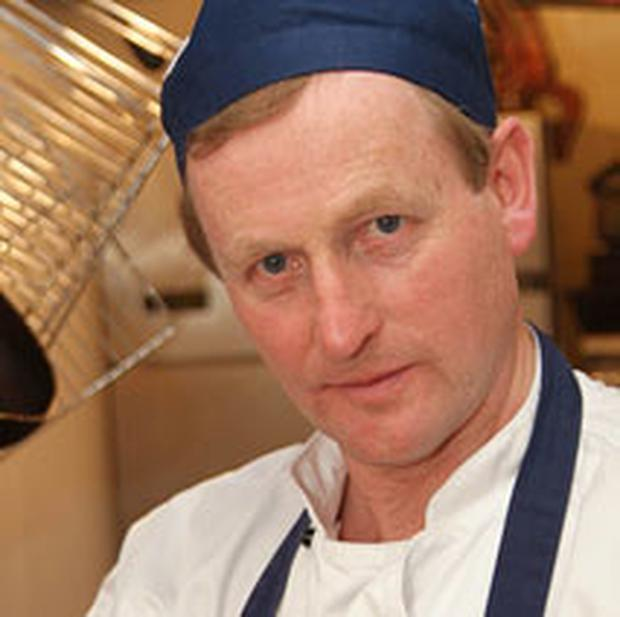 Enda Kenny on The Restaurant in 2005 Photo: RTÉ