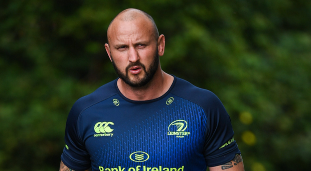 Hayden Triggs is leaving his home-from-home at Leinster to return to New Zealand. Photo: Stephen McCarthy/Sportsfile