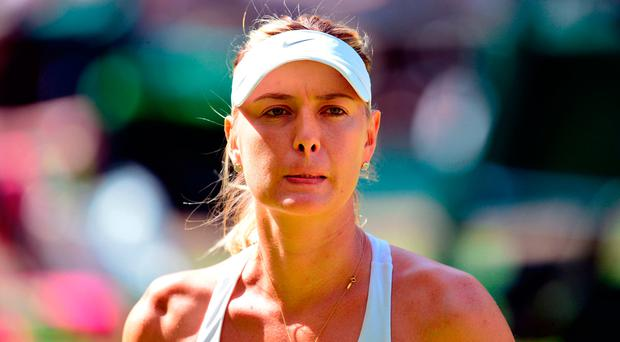 Maria Sharapova has not been handed a wild card into this year's French Open. Photo: Dominic Lipinski/PA