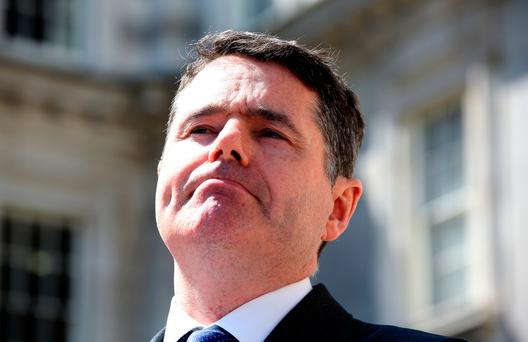 Reached a point to be able to 'consider' rises: Minister Paschal Donohoe. Photo: Tom Burke