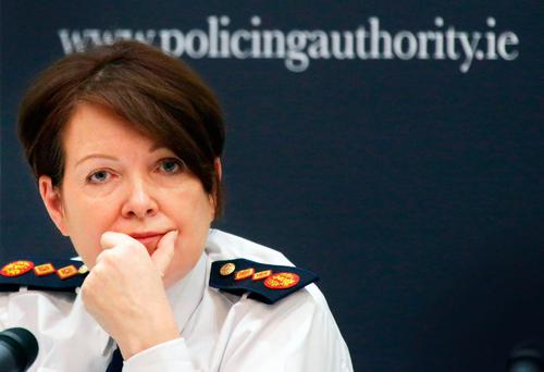 Garda Commissioner Noirin O'Sullivan. Photo: Gerry Mooney
