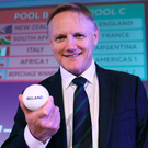 Joe Schmidt and his men kick off their campaign against France in Paris next season. Photo: Sportsfile