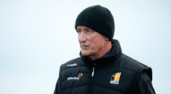 15 January 2017; Kilkenny manager Brian Cody during the Bord na Mona Walsh Cup Group 2 Round 2 match between Kilkenny and Antrim at Abbotstown GAA Ground in Abbotstown, Co Dublin. Photo by Cody Glenn/Sportsfile