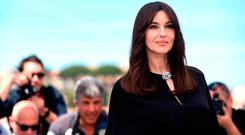 Monica Bellucci attends a photocall for her duty as Mistress of Ceremonies during the 70th annual Cannes Film Festival at Palais des Festivals on May 17, 2017 in Cannes, France. (Photo by Antony Jones/Getty Images)