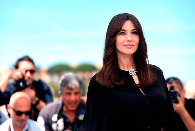 Ageless Monica Bellucci Makes A Style Statement In All Black