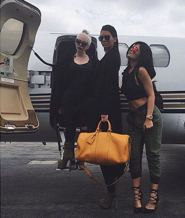 Joyce Bonelli with Kendall and Kylie Jenner
