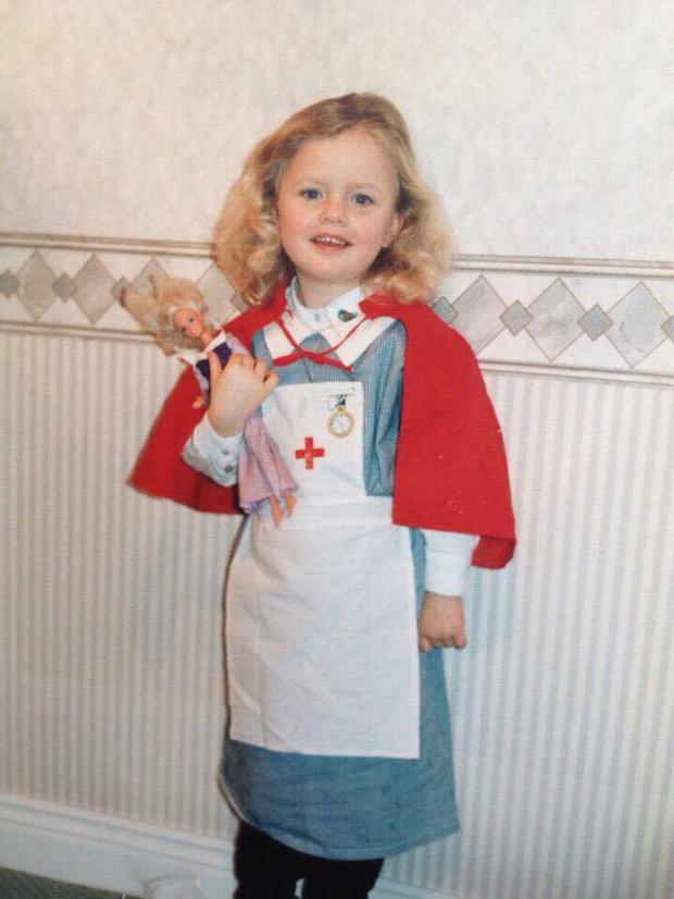 Ruth said she always dreamed of being a nurse.